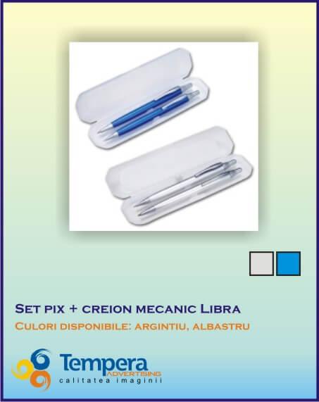 Set pix cu creion mecanic Libra-pix personalizabil